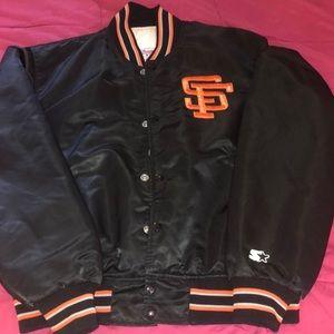 old school starter jacket
